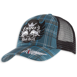 38-31685 | Kini Red Bull Plaid Trucker lippis sininen