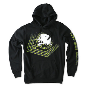 40-13393 | Metal Mulisha CHECK POINT Fleece pullover musta