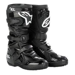 40-13942 | Alpinestars Tech 6 S Junior crossisaappaat musta