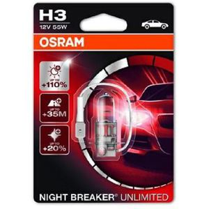 43-1983 | Osram Night Breaker Unlimited H3-polttimo  +110% 12V