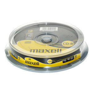 47-5115 | Maxell CD-R levy 52x 700MB/80min Cakebox 10kpl