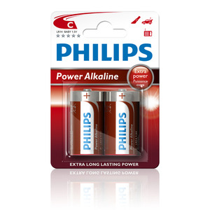47-5879 | Philips Power Alkaline C (LR14) paristo 2kpl