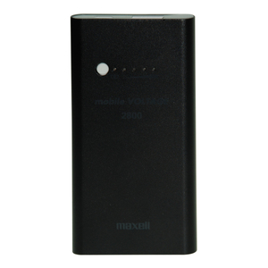 47-6772 | Maxell Power Bank 2800mAh musta