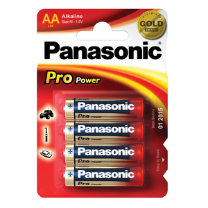 47-7098 | Panasonic Pro Power AA/R6 Paristo 4kpl