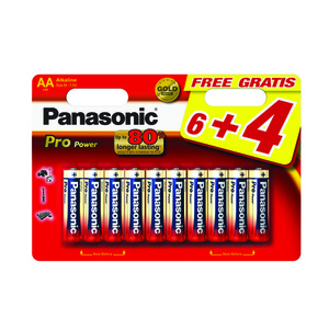 47-7115 | Panasonic Pro Power 10xAA/R6 paristo