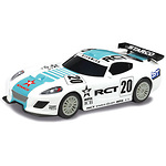 Scalextric-auto-GT-Lightning-White