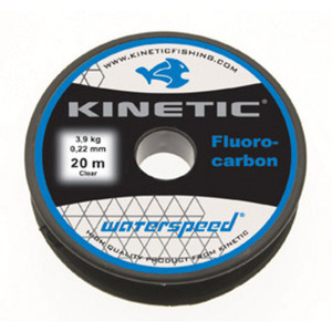 54-8680 | Kinetic Waterspeed fluorocarbon perukesiima 0,50 mm 20 m