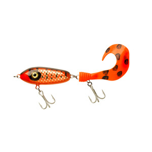 55-0184 | Svartzonker Mc Mio Tail haukivaappu 60g /10cm Red/Black