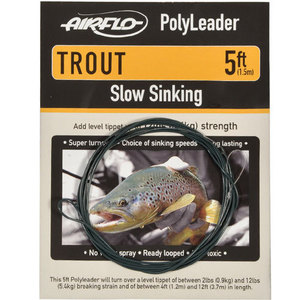 56-3154 | Airflo Polyleader Trout Fast Sink 5'