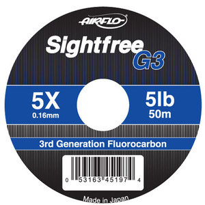 56-3172 | Airflo Sightfree G3 Fluorocarbon - perukesiima 0,23mm 50m