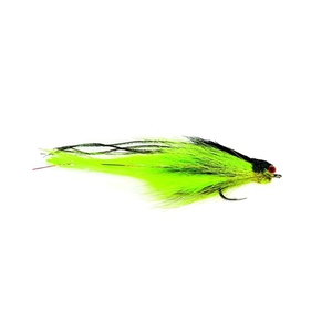 56-8559 | Fulling Mill haukiperho Andino Deceiver Chartreuse/Black 6/0 1kpl