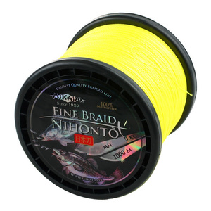 56-8960 | Mikado Nihonto Fine Braid kuitusiima 1000m  0,35mm yellow