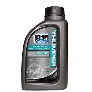 59-3063 | Bel Ray Thumper racing synthetic Ester Blend 4T 15W-50 1 L