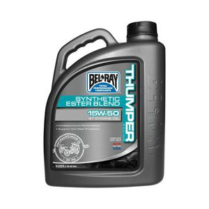59-3079 | Bel Ray Thumper racing synthetic Ester Blend 4T 15W-50 4L