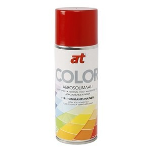 60-9425 | AT-Color spraymaali tumman punainen 400ml
