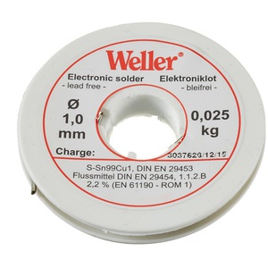 80-6769 | Weller® EL99 juotostina 1,0 mm 250 g