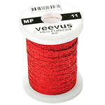 Veevus-Mini-Flatbraid-Red