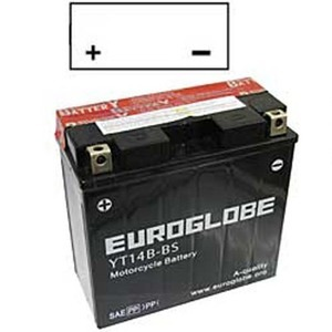 "90-0034 | Euroglobe MP-akku 12V 12Ah ""YT14B-BS"" (P150xL70xK145mm)"