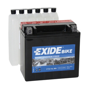 "90-0422 | Exide MP-akku 12V 12Ah ""YTX14L-BS"""