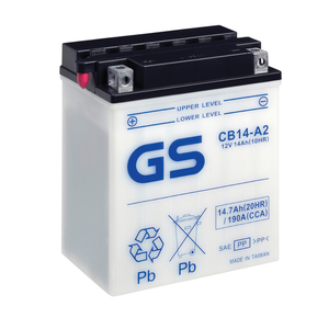 "90-0621 | GS MP-akku 12V 14Ah ""CB14-A2/YB14-A2"""