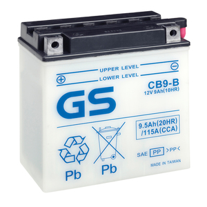 "90-0639 | GS MP-akku 12V 9Ah ""CB9-B/YB9-B"""