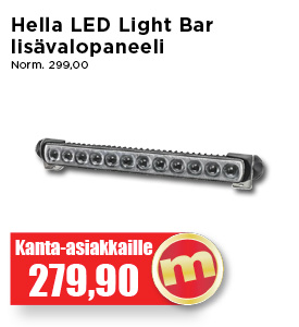 Hella LED light bar lisäkaukovalopaneeli