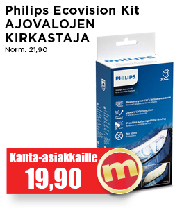 Philips Ecovision Kit ajovalojen kit